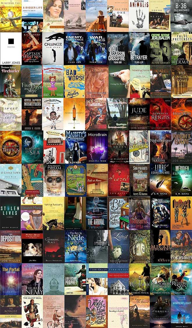 John David Kudrick editorial work (fiction books)